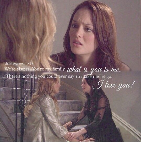 Blair and Serena #friendship