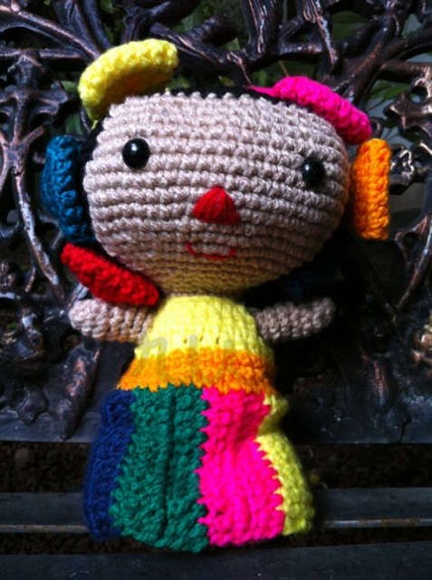 Live from the Crochet Awesomeness Linky Party!  Terminada: muñeca mexicana « Bruno