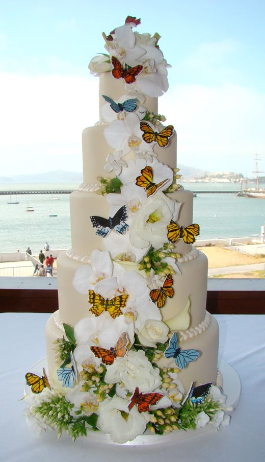 indian weddings inspirations butterfly wedding cake repinned by indianweddingsmag indianweddingsmagcom