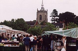 Swaffham Saturday market