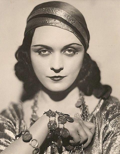 Silent Film Actress Pola Negri
