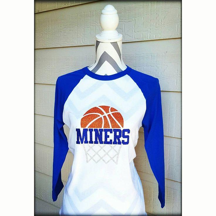 Basketball Mom Shirt Raglan with Mascot or Name                                                                                                                                                                                 More