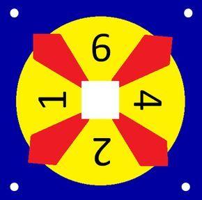 De '24-game'. Een erg leuk spel, wie kan er een som maken met als uitkomst 24? Je mag alleen de getallen op het kaartje gebruiken! Uitprinten en lamineren: een aanrader!