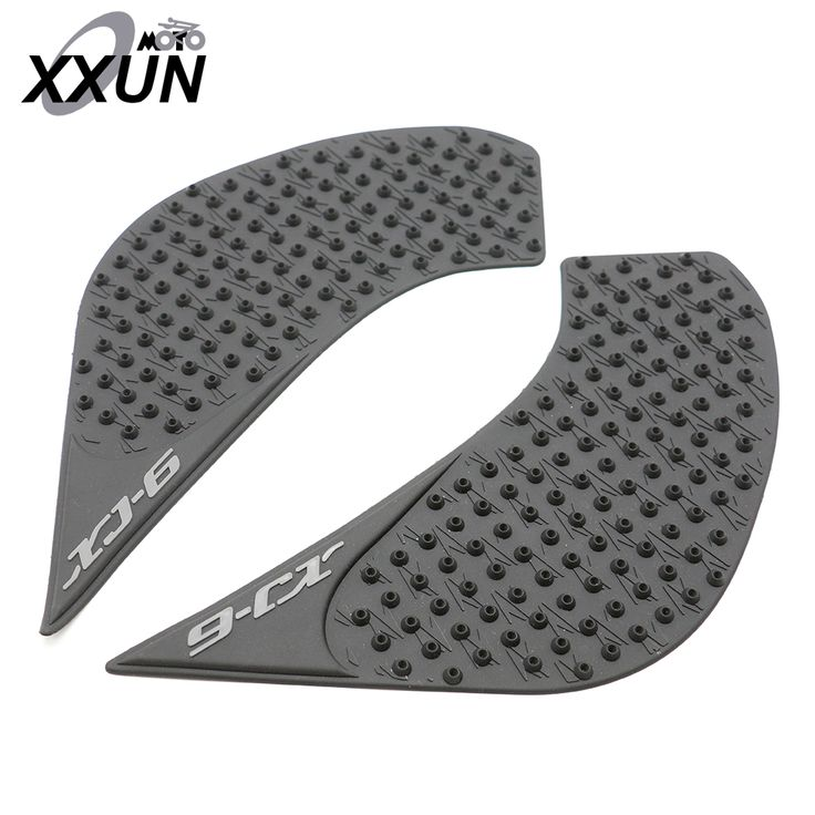 New Arrival Black Motorcycle Tank Traction Side Pad Gas Fuel Knee Grip Decal For yamaha XJ6 yamaha XJ-6 2010-2016 #Affiliate