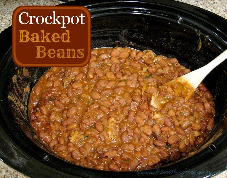 Crockpot Baked Beans From Scratch | Recipe | Homemade ...