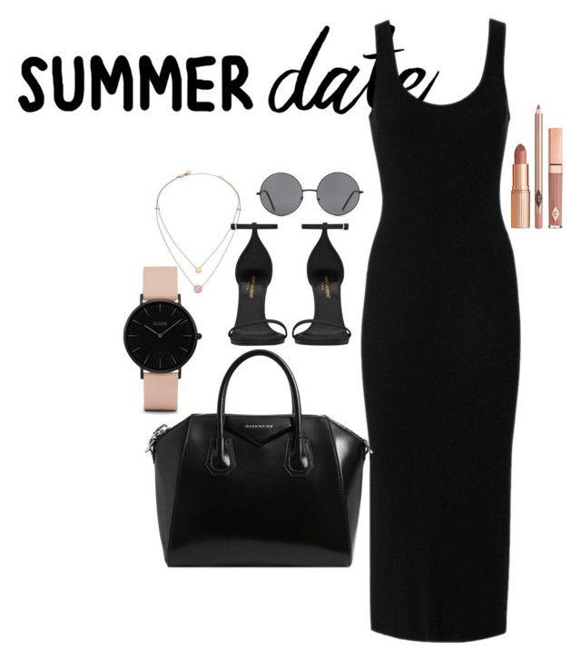 """In love OBAD"" by raiynel on Polyvore featuring CLUSE, Forever 21, Enza Costa, Michael Kors, Givenchy, Dolce Vita and Yves Saint Laurent"