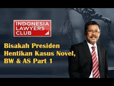 ILC 11 Februari 2016 Bisakah Presiden Hentikan Kasus Novel, BW & AS Part 1