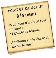 eclat peau huile de rose musquee L'Huile de rose musquée : L'incontournable pour rester plus jeune ou pour certains problèmes de peau.