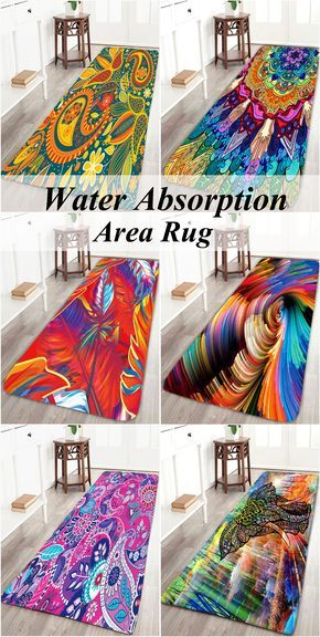 Water Absorption Area Rug