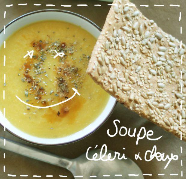Recette de la soupe détox : chou, oignon, carottes et céleri-rave. 1 chou vert, 1 oignon, 4 carottes et une céleri-rave, huile d'olive et gomasio + 1l d'eau