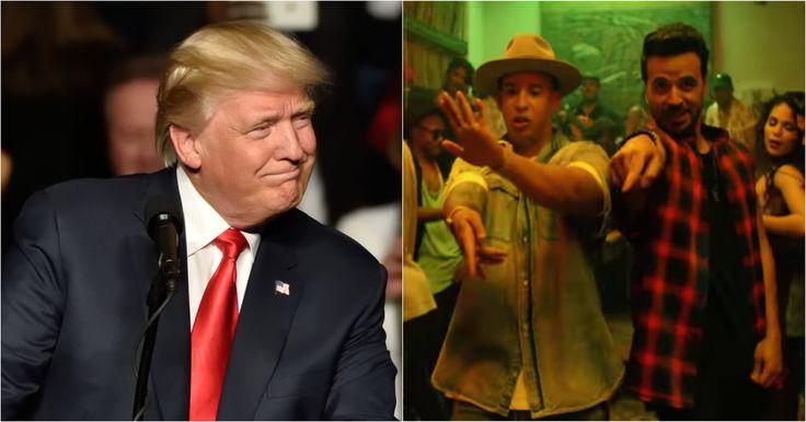 """El video de Donald Trump cantando """"Despacito"""" que se vuelve viral #Farándula #canciones #Despacito #DonaldTrump #LuisFonsi"""