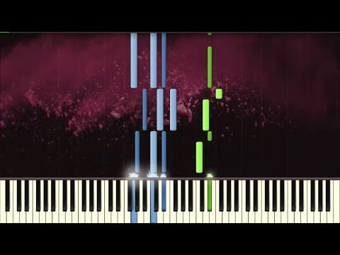 Alan Walker vs Coldplay - Hymn For The Weekend - Piano tutorial (Synthesia) - YouTube