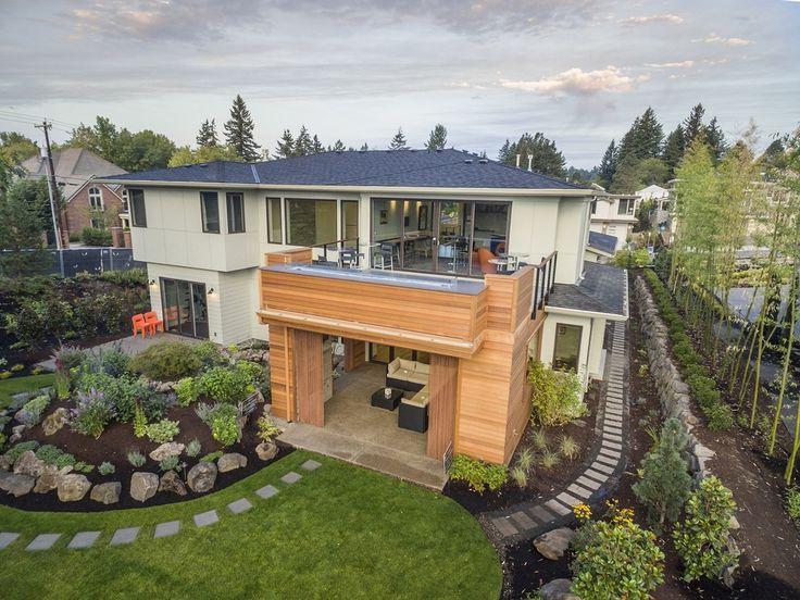464 best modern house plans images on pinterest | modern house
