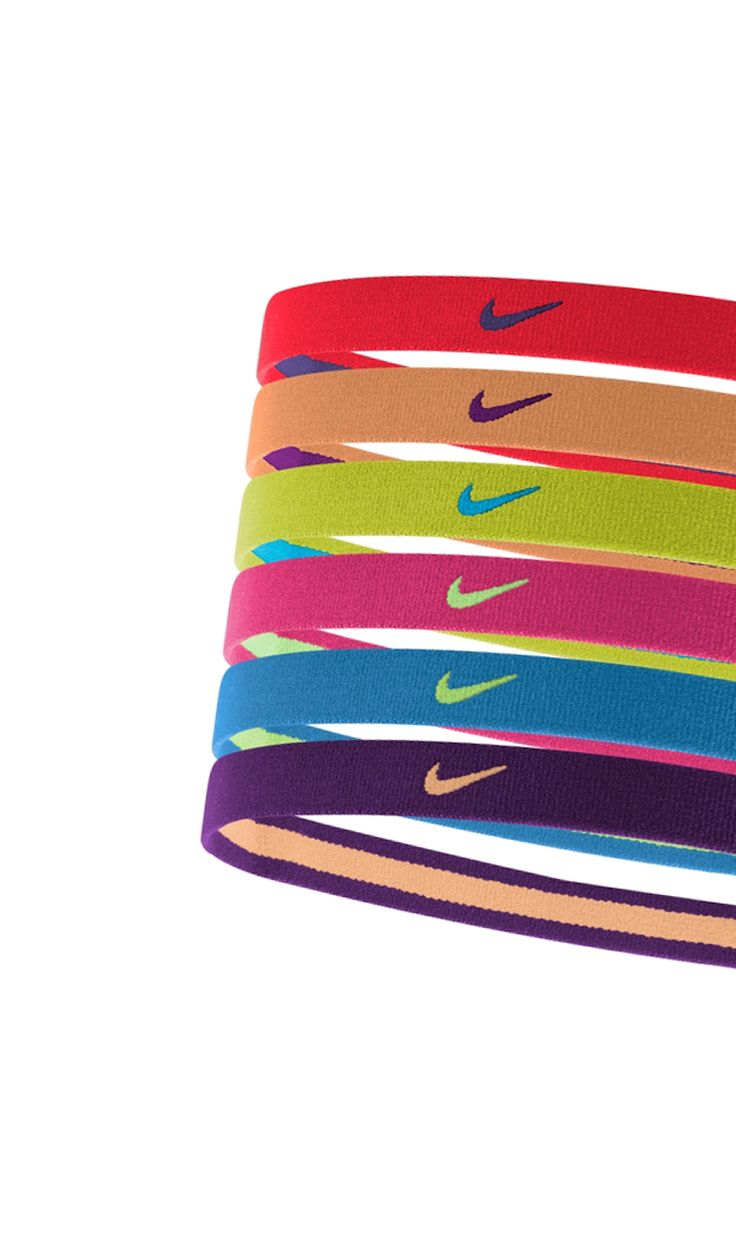 Get a head start on '80s fitness craze nostalgia. #Nike #Headband
