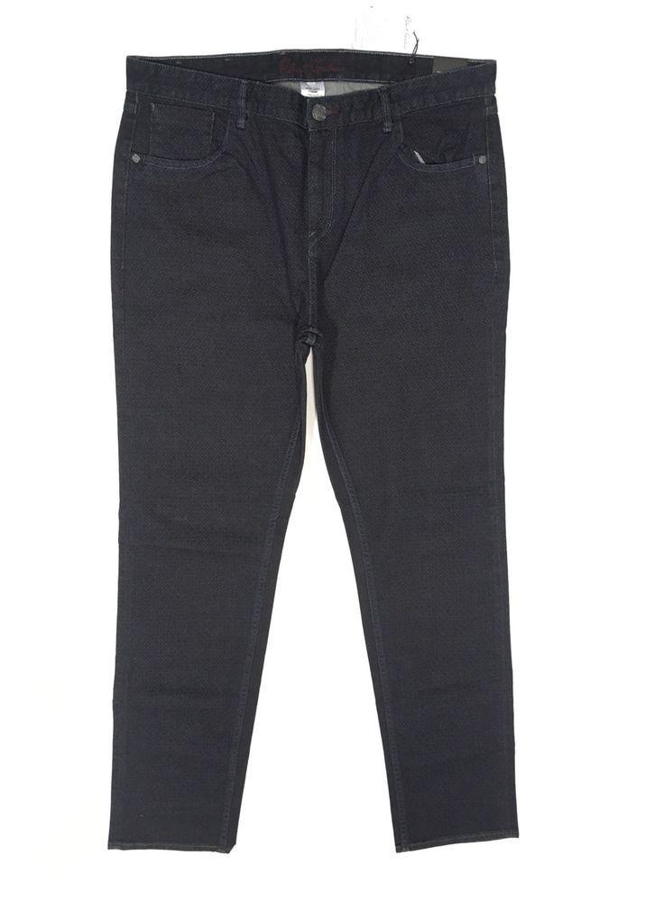 e08cadd1a3b4 Robert Graham Jeans 38 Tailored Kipling Fit Renzo Pant Indigo Casual Slacks  NWT