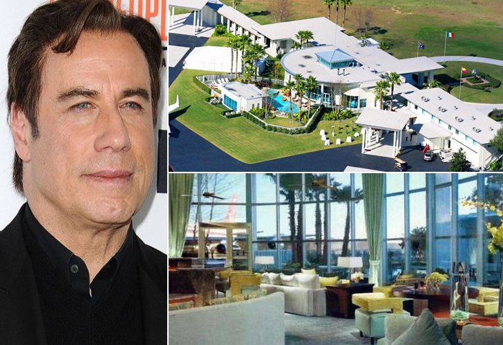 John Travolta – $12 Million, Florida If you think like John Travolta, you're likely to begin looking at the world through the same lenses as he does; and if you do, you will learn that time is money. John Travolta's $12-million Florida home/airport is an accurate representation of this fact, and with an estimated net …