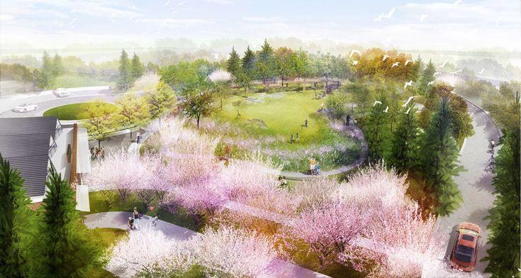 Микянг Ким Дизайн - Чикаго Ботанический Сад  Mikyoung Ким Design - Ландшафтная архитектура, городское планирование, сайта Art