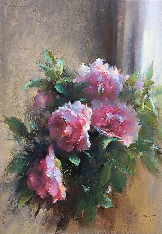 Javad Soleimanpour 1965 Art I Like Painting Peony