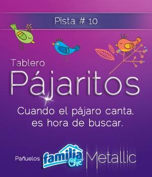 Pañuelos Familia @ Chic Metallic. Un toque chic que le dará brillo a cualquier lugar.