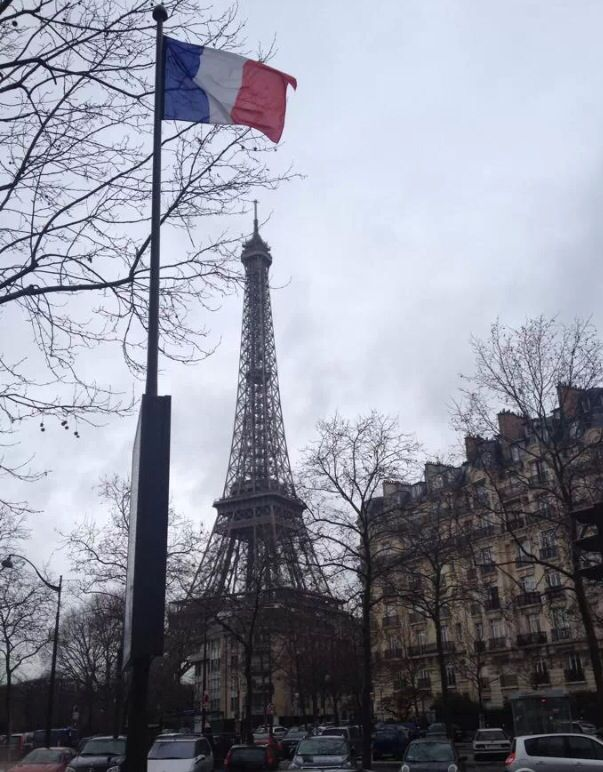 Paris on a winter's day
