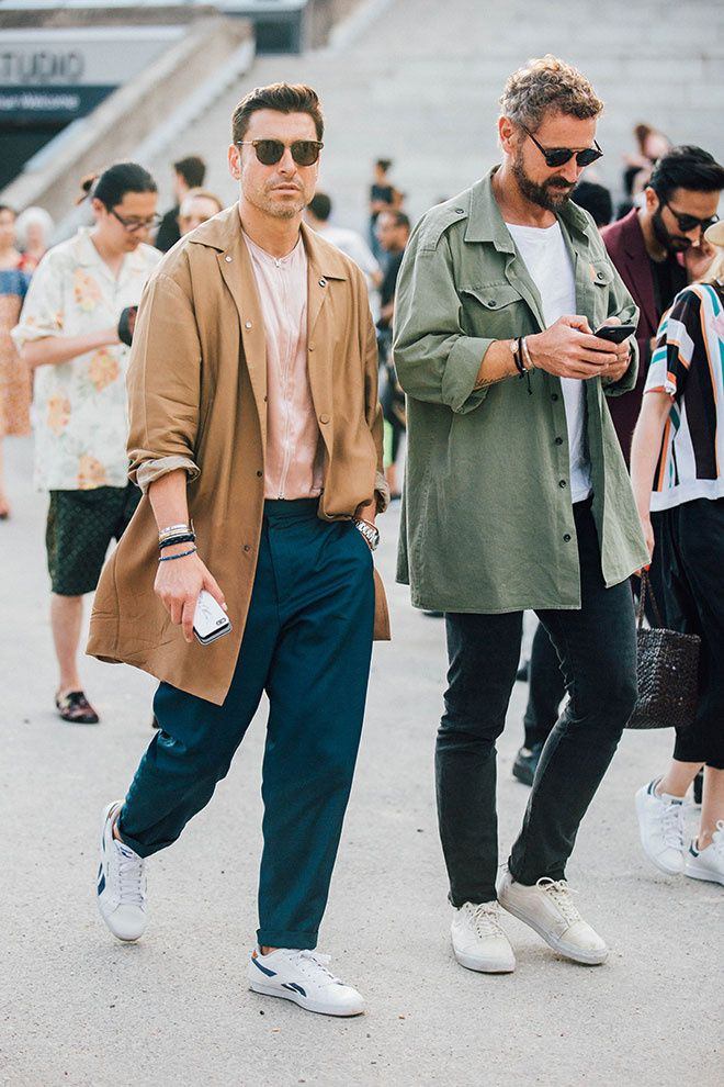 I love the new tailoring in menswear. Goodbye slim fit trousers!