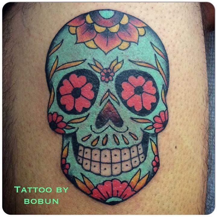die besten 25 tattoo mexicana ideen auf pinterest tattoos de catrinas tag der toten tattoo. Black Bedroom Furniture Sets. Home Design Ideas