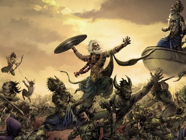 Mahabharata and Charity - When trying to opine on an epic like the Mahabharata, perhaps the most appropriate way...