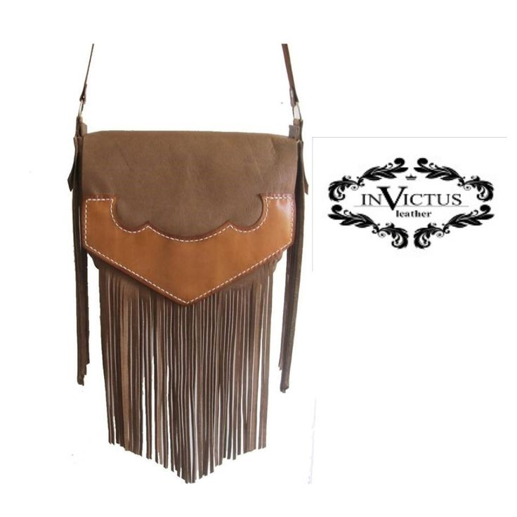 BROWN LEATHER TASSEL BAG  http://www.angelicfeathers.co.za/collections/leather-bags/products/brown-leather-tassel-bag  Genuine Leather Tassel Bag, hand dyed and hand stitched.