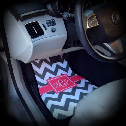 Car Mats Monogrammed / Personalized Car Mats from Sassy Southern Gals Boutique