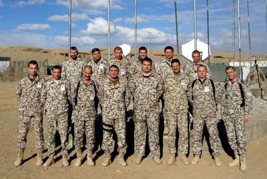 Украинский миротворческий персонал в Афганистане