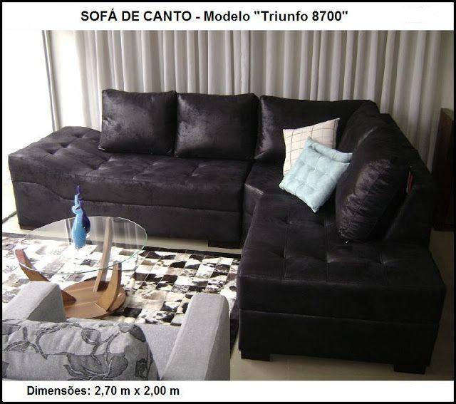 SOFÁ DE CANTO  http://www.casabelainteriores.com/p/sofas-de-canto.html