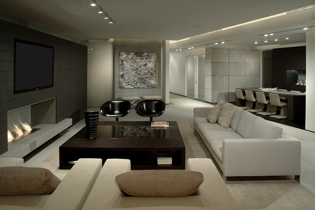 Mizner Park, designed by Eric Dyer, a 5200 sqft apartment  in Boca Raton, minimalist space with a soulful mood _