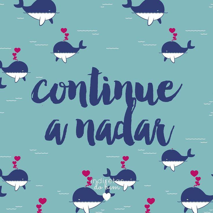 Mesmo que parecer difícil, não desista. #recadodobem