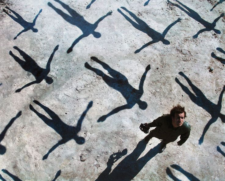 Storm Thorgerson ~ Muse Absolution album cover