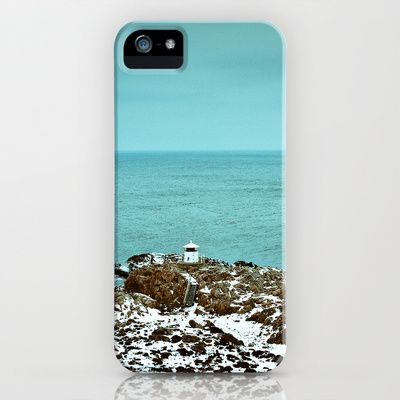 LIGHTHOUSE iPhone Case by lilla värsting - $35.00