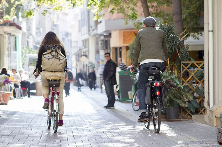 #Athens is lovely in winter! Get dressed and go for a walk with your bike! Photo credits: @manos