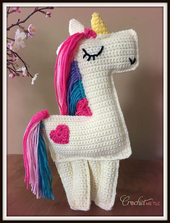 Little Pony Kawaii Pony Little Horse Tiny Amigurumi Pony | Etsy | 746x570