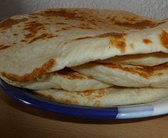 Rezept Naan, DAS ultimative softe indische Fladenbrot von tinyk - Rezept der Kategorie Brot & Brötchen