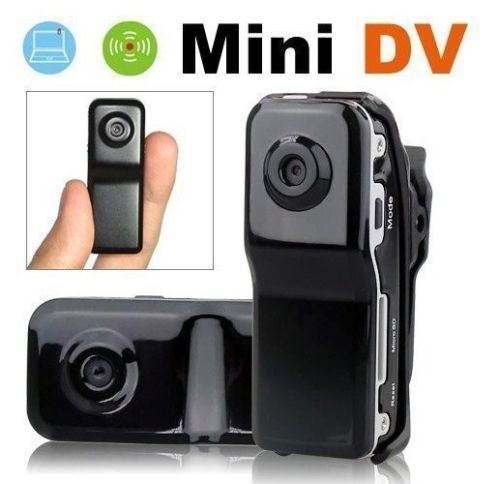Mini Portable DV Hidden Video Camera Spy Camcorder Sound Activated Camera, Black