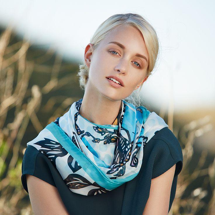 S/S 2015 by Marja Kurki Finland, shot by Jonas Lundqvist. #editorial #fashion #silk #fashionphotography
