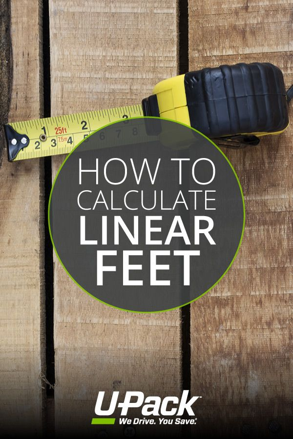 Find Out What A Linear Foot Is And Why It Matters If You Re Moving In This Post Linear Packing Dishes Moving Tips