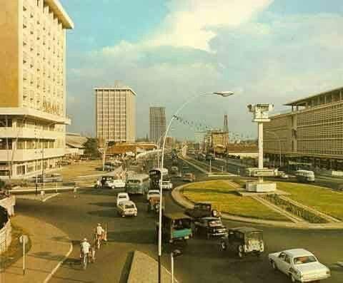 Jl. Thamrin, Jakarta 1970