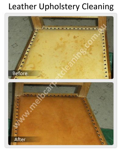 Leather Upholstery Cleaning by Melbourne Carpet Cleaning