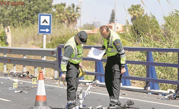 Uno de los ciclistas heridos en al accidente de Oliva sale de la UCI 19 días después del atropello