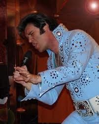 Chance Michaels an Elvis impersonator performing around Vegas.