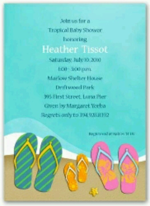 8 best Beach Theme images on Pinterest Baby shower themes Beach