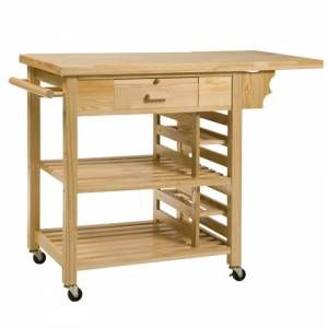Kitchen Trolley | Butcher's Block | Barbecue Trolley | £119.99