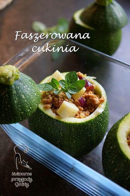 Kulinarne przygody Gatity: Faszerowana cukinia z indykiem