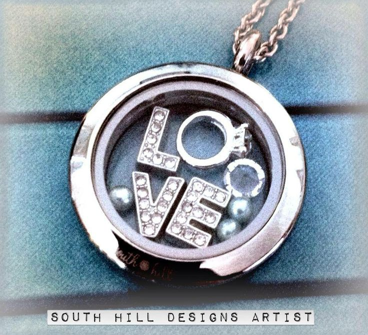 Love with a Ring - South Hill Designs Locket