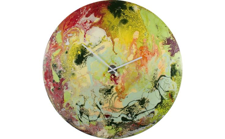 Large Multicoloured Clock
